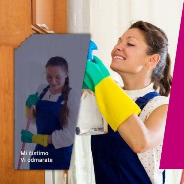 Čišćenje kuća, stanova i poslovnih objekata