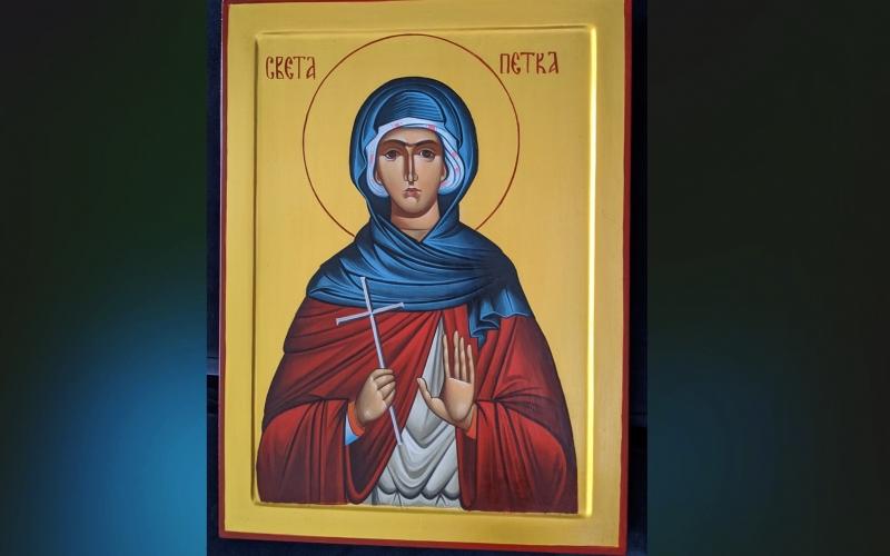 Ikona Sveta Petka