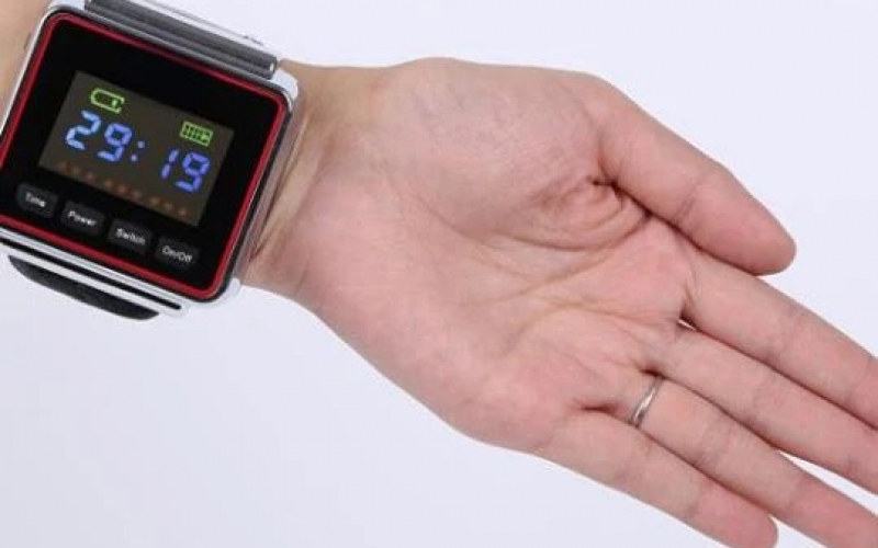 High blood pressure léser therapy watch