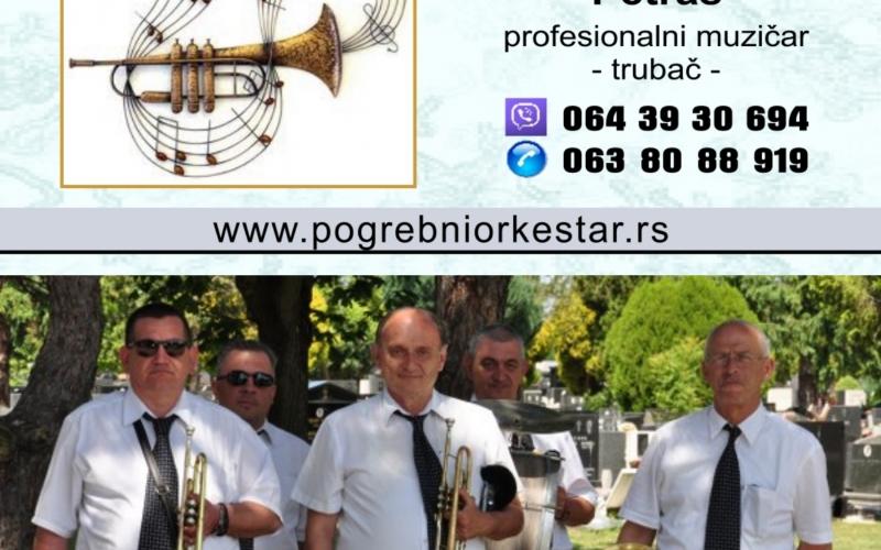 Pogrebni orkestar pleh muzika za sahrane trubači