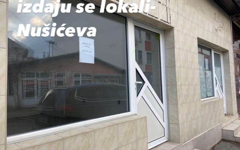 Izdajem više poslovnih prostora u centru Bijeljine
