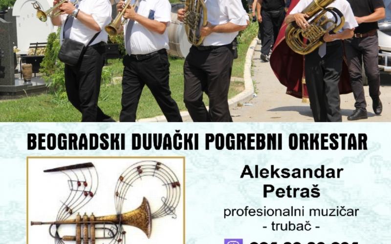 Trubači za sahrane pogrebni orkestar pleh muzika