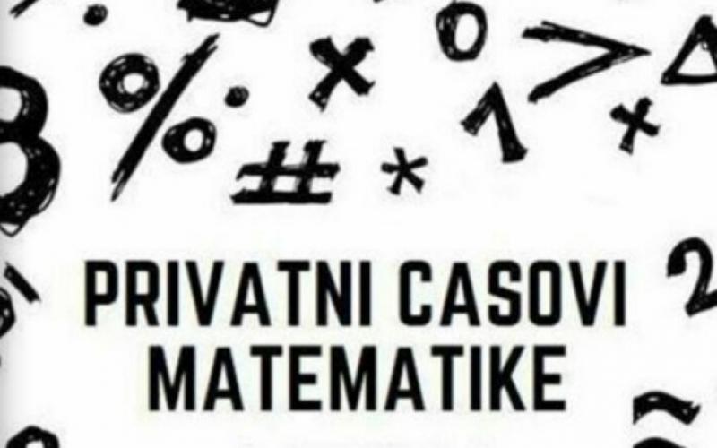 Privatni časovi iz matematike