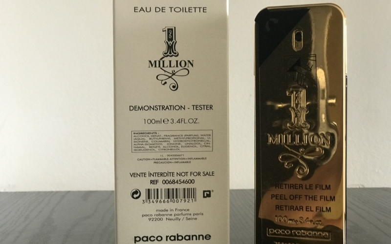 One Million Paco Rabanne 100ml ORIGINALNI TESTER
