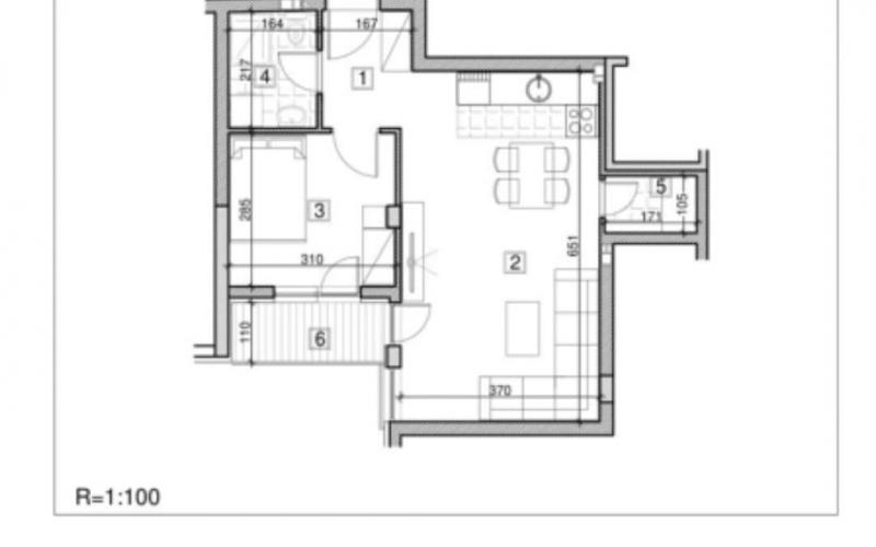 Prodajem dvosoban stan u Novom Sadu 44m2