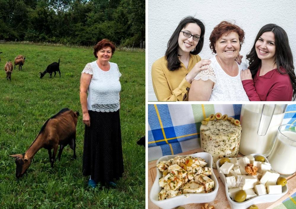 Mira i njena porodica proizvode kozji sir i mlijeko vrhunskog kvaliteta!