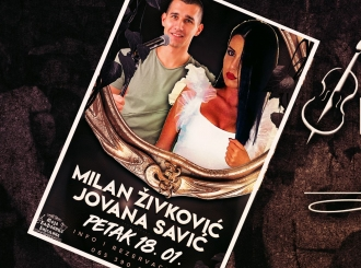 Milan Živković i Jovana Savić