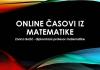 Online časovi matematike📚