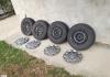 Celicne Felge i gume Michelin 195/65/R15 5x100 250km