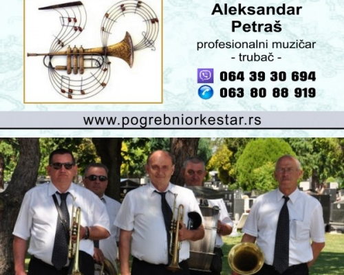 Pogrebni orkestar trubaci pleh muzika