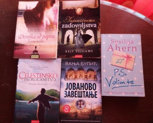 Na prodaju komplet 5 knjiga