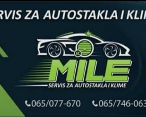 """Servis za autostakla i autoklime """"Mile"""""""