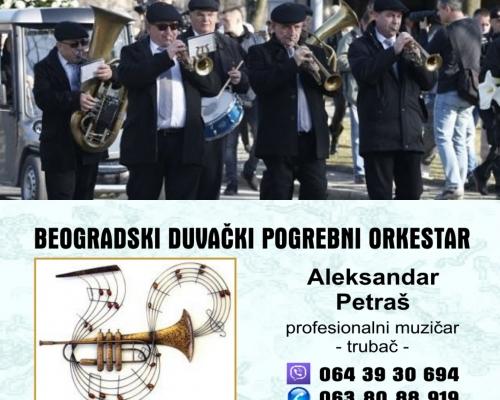 Orkestar bleh pogrebna muzika za sahrane trubači