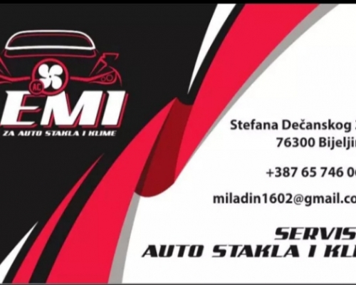 "Servis za autostakla i autoklime ""Lemi"""