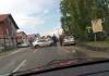U udesu na koridoru lakše povrijeđen motociklista