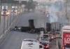 Haos blizu granice SAD-a, jedan napadač ubijen, zapaljeno više vozila