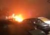 Buktinja u Bijeljini: Zapaljen automobil bivšeg savjetnika Dragana Mektića