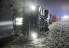 Nevrijeme u Njemačkoj: Poginula žena, prevrnuo se autobus iz Hrvatske