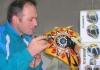Od hobija u selu do posla u Harli Dejvidsonu: Bijeljinac gravira i oslikava motocikle
