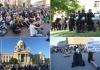 Treći dan protesta počeo u mirnoj, hipi atmosferi - nadamo se da će tako i ostati