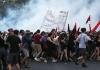 Grčka ključa, hiljade ljudi na ulici