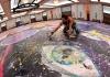 Britanski umetnik radi na najvećoj slici na platnu na svetu