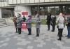 Aktiv žena SP uličnom akcijom ukazao na problem nasilja nad ženama