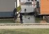 Marice, psi tragači, ronioci: Policija pretresa splav koji je obezbjeđivala ekipa Velje Nevolje