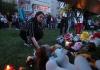 Sahrana žrtava napada u školi u ruskom Tatarstanu