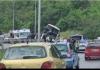 Dvije djevojke proletjele kroz šoferšajbnu autobusa prilikom sudara sa dva auta