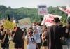 Protest evropskih aktivista na granici BiH i Hrvatske zbog migrantske politike EU