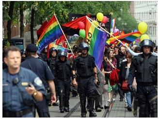 Gej parada u Zagrebu