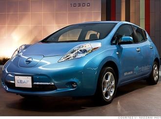 Nissan Leaf Proglašen automobilom 2011-te