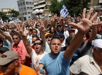 Grčki taksisti nastavljaju štrajk