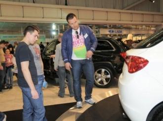 Ivan Ivanović na sajmu prodavao Alfa Romeo Giulietta