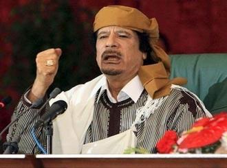 Gadafi optužio NATO da pokušava da ukrade libijsku naftu