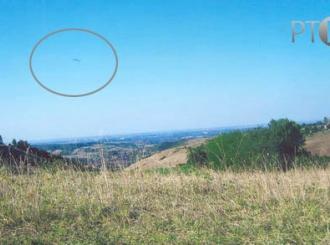 Da li je zaista uslikan NLO iznad Fruške gore