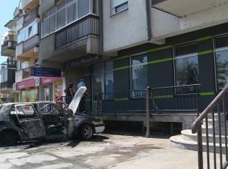 Izgorio automobil u Bijeljini