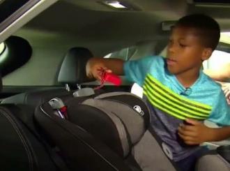 Dječak od 11 godina izumio uređaj koji će spašavati djecu u užarenim automobilima