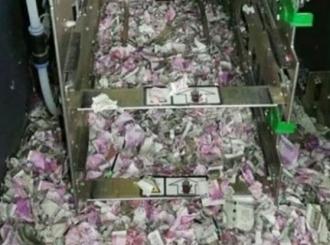 Lopovi provalili u bankomat i POJELI 15 hiljada evra