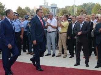 Dodik: Velika čast što smo ugostili Lavrova