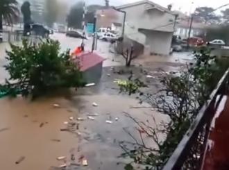 Potop u CG i Hrvatskoj: Voda na putevima, u školama