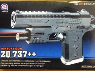 Laserski pokazivači i pištolji igračke povlače se sa tržišta BiH