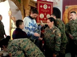 Vojska obilježila božićne praznike
