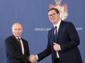 Putin: Odnosi Rusije i Srbije sve su bolji; Vučić: Srbija je uvijek bila saveznik Rusije