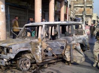 Desetine mrtvih u eksplozijama u Bagdadu