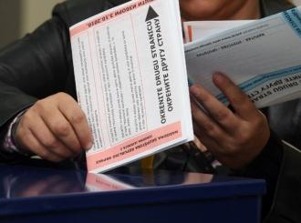 Skeniranje glasačkih listića na čekanju