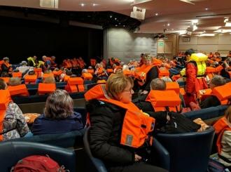 Spaseni putnici sa kruzera kod obale Norveške