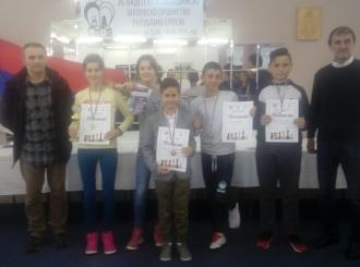 "ŠK ""Sveti Georgije"": Pet medalja na šahovskom prvenstvu RS"