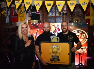 FOTO Predrag Petrović iz Bijeljine pobjednik ovogodišnje Akademije točenog piva!
